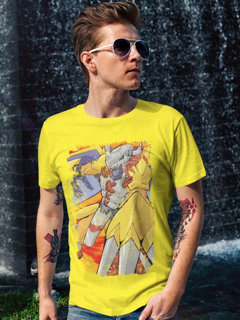 Wargreymon Attack camiseta amarilla