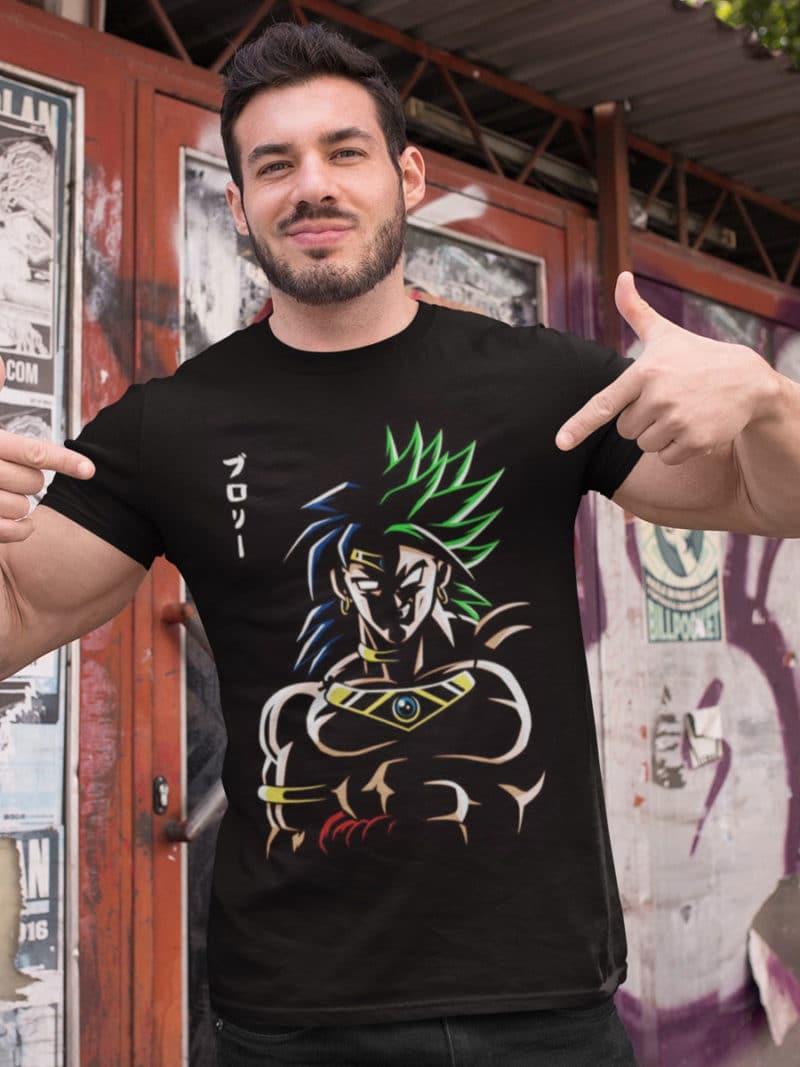 camiseta dragon ball broly