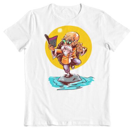 camiseta dragon ball z la concentracion de mutenroy