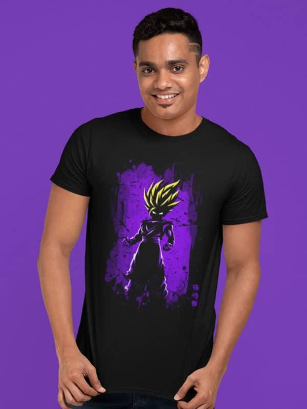 camiseta gohan en nivel 2