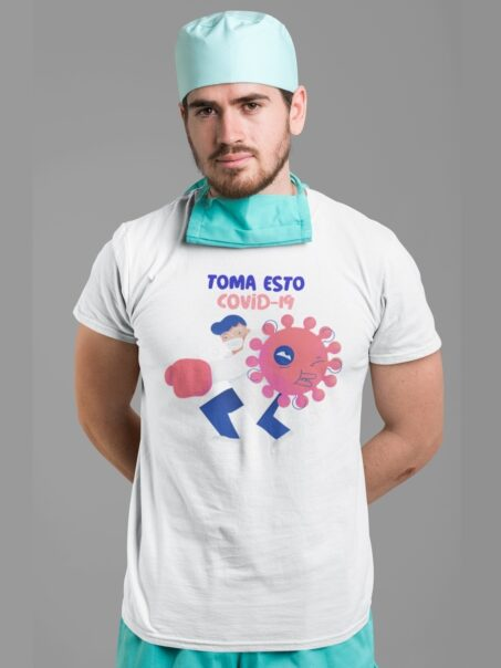 camiseta toma esto covid-19