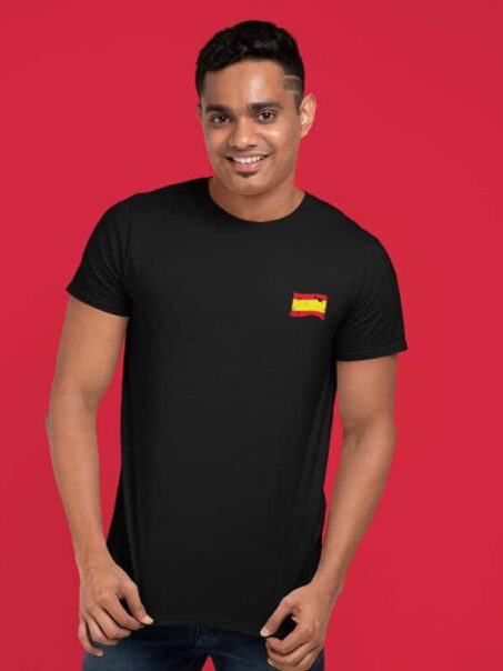 camiseta bandera espana