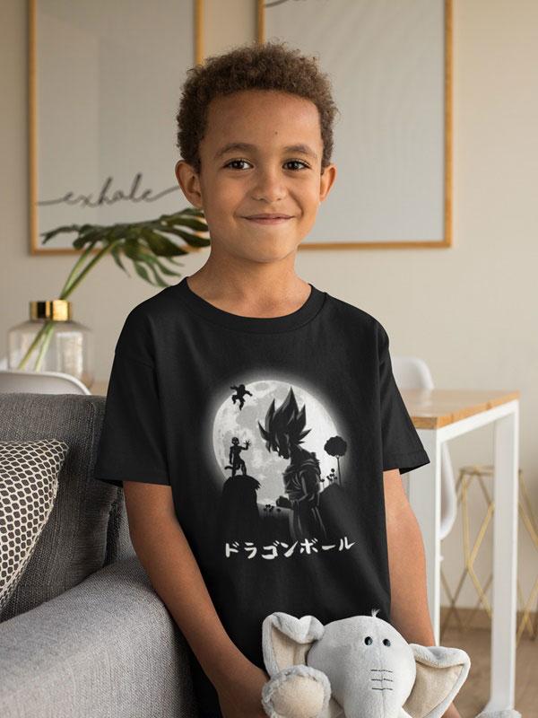 camiseta el super saiyan legendario