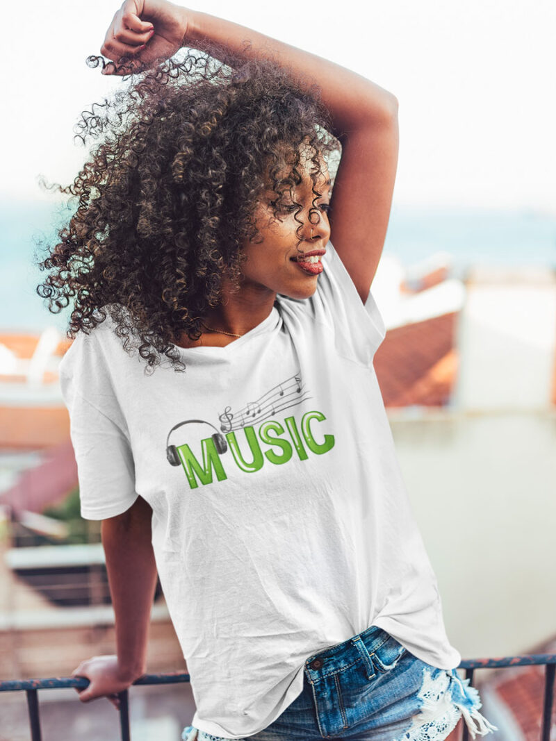 camiseta life is music