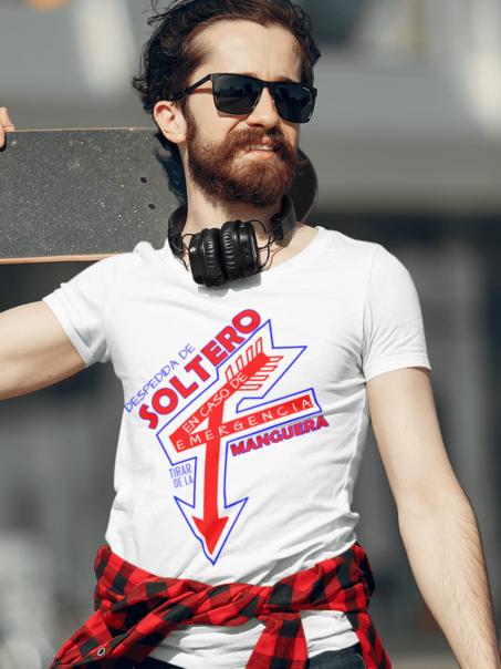 camiseta despedida de soltero original