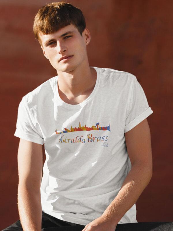 camiseta logo giraldabrass colors