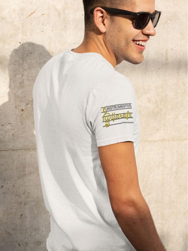 giraldabrass logo camiseta blanca