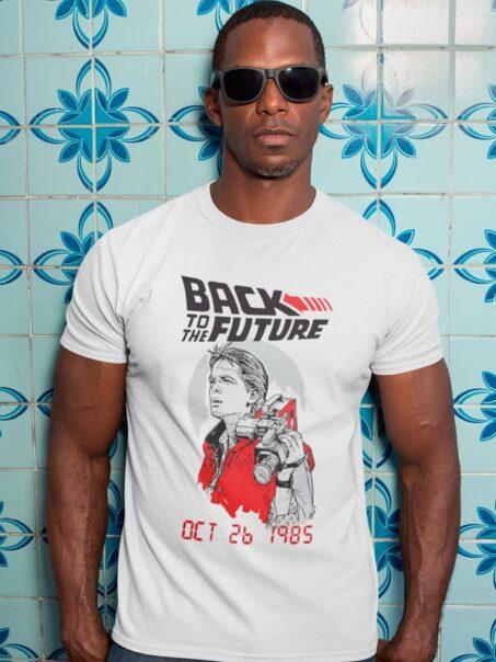 Camiseta Back to the Future Date