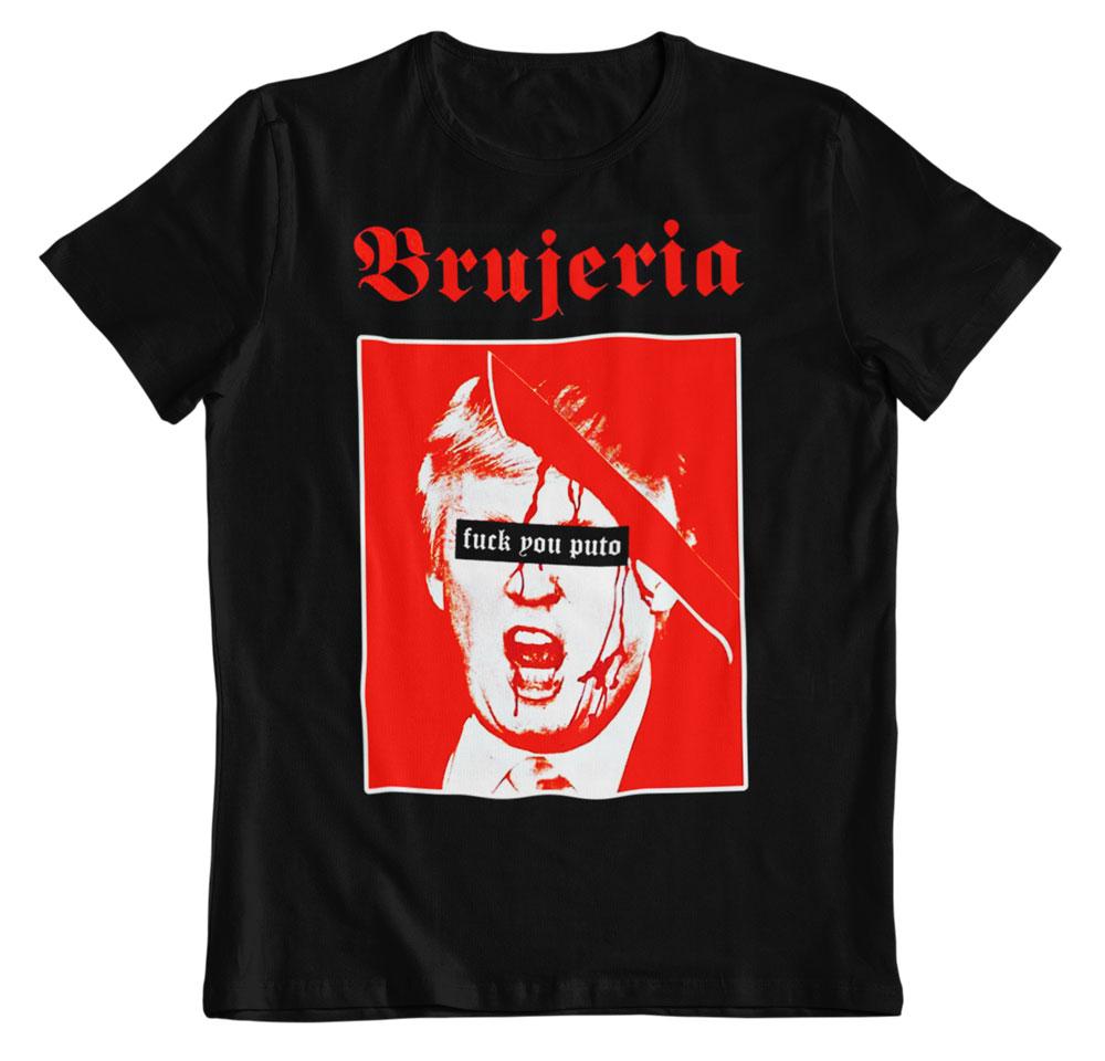 Camiseta música Brujería