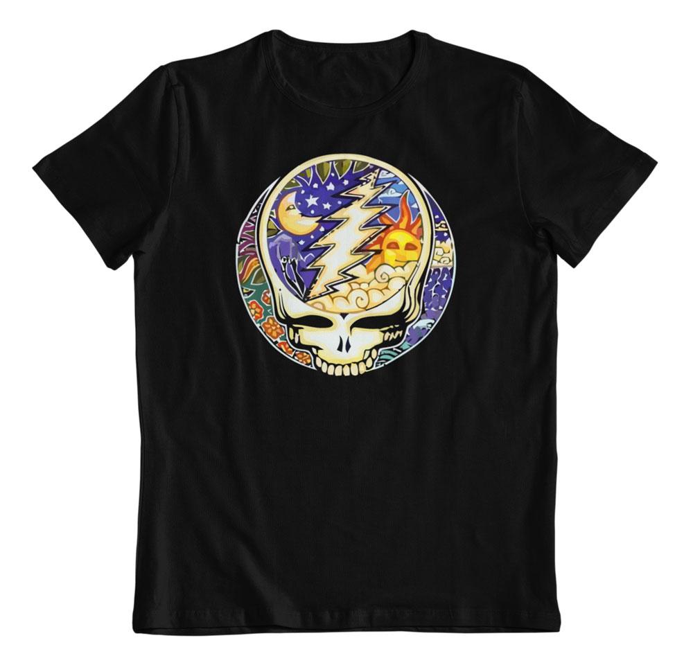 €18,30 Camiseta Dan Morris Grateful Dead NightDay Steal Your Face