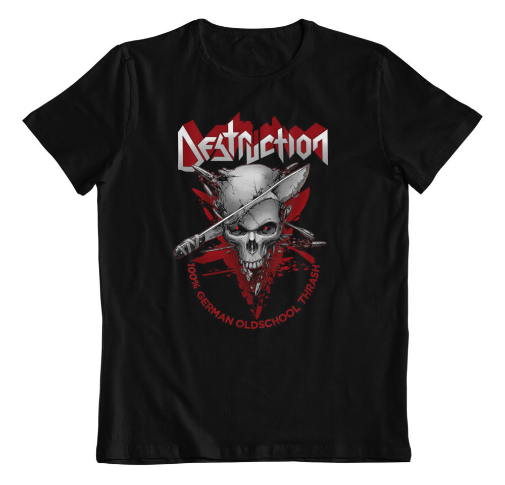Camiseta Destruction