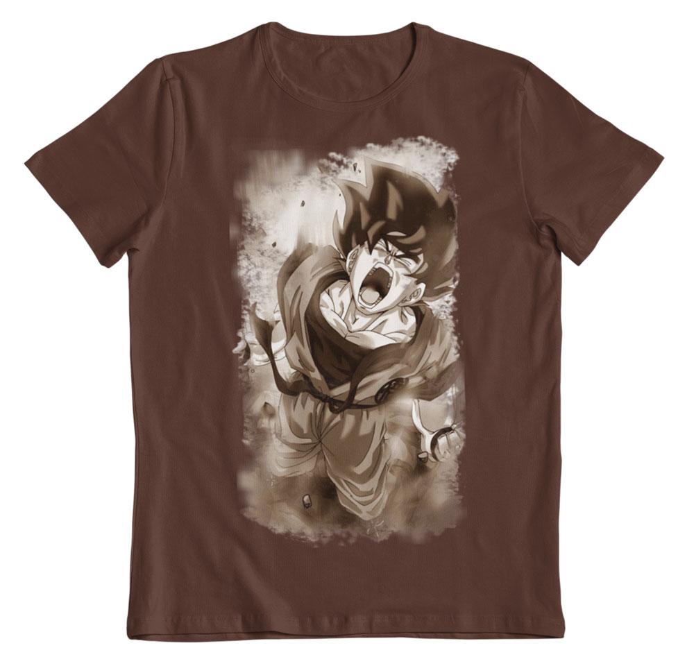 Camiseta Dragon Ball Z Goku ataque Kaito