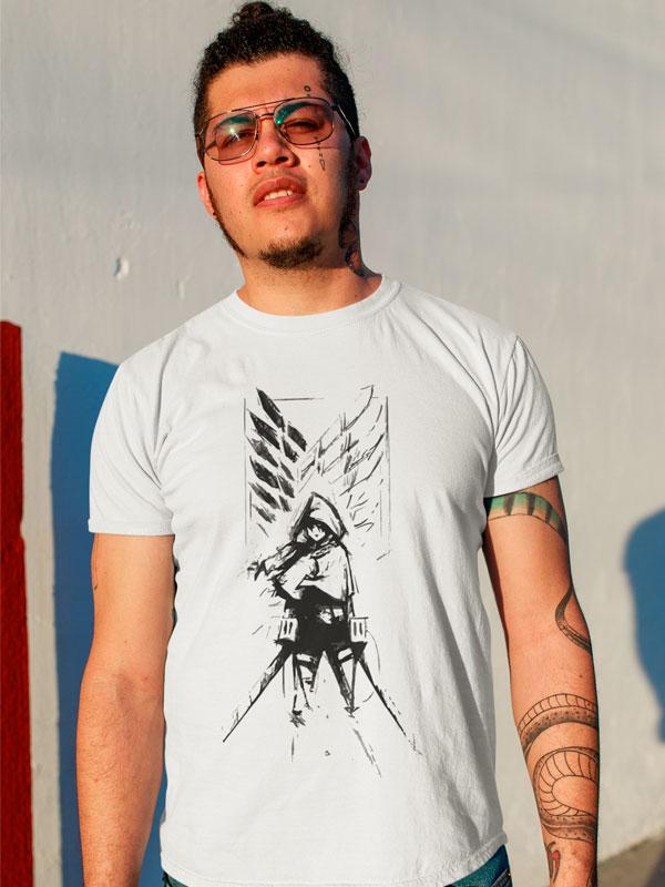Camiseta Explorador de Ataque a los Titanes