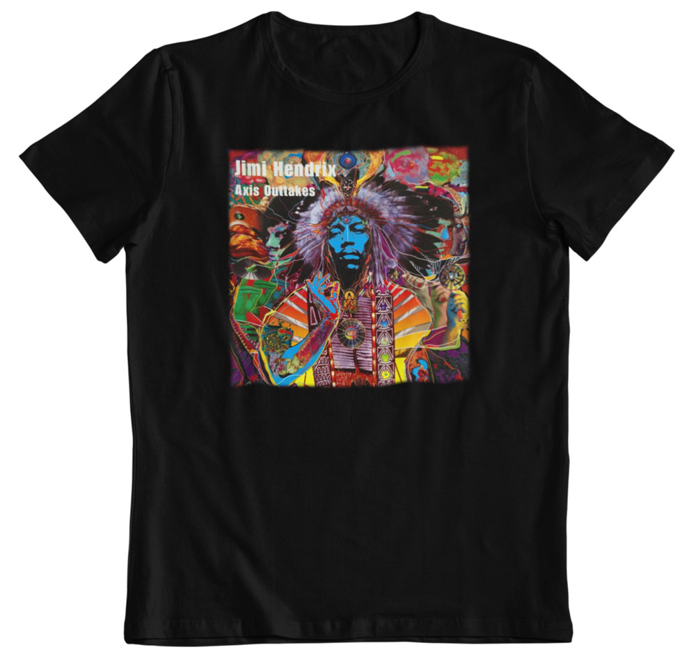 Camiseta Jimi Hendrix Axis Outtakes