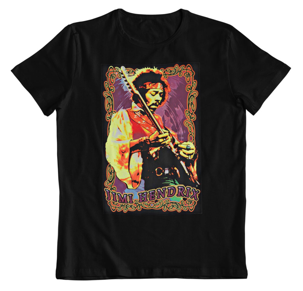 Camiseta Jimi Hendrix la leyenda