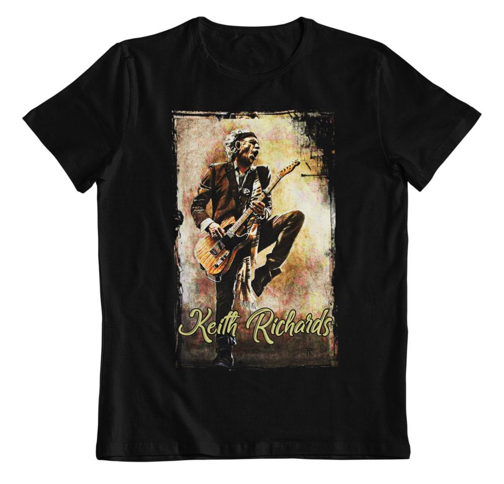 Camiseta keith richard