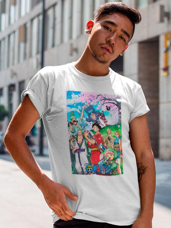 Camiseta One Piece Saga País de Wano