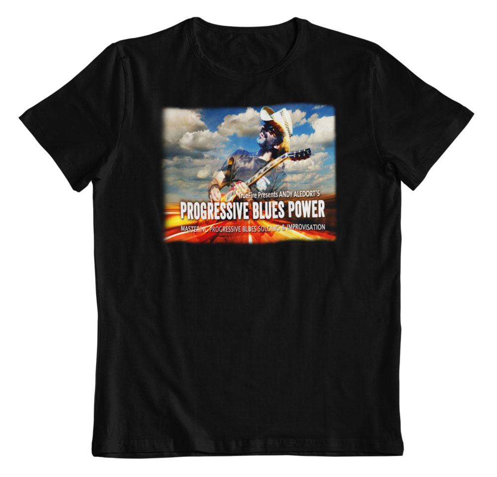 Camiseta Progresive Blues Power