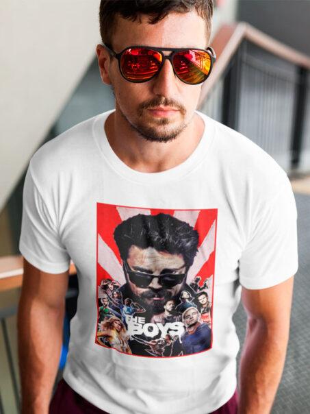 Camiseta The Boys S2 Blanca