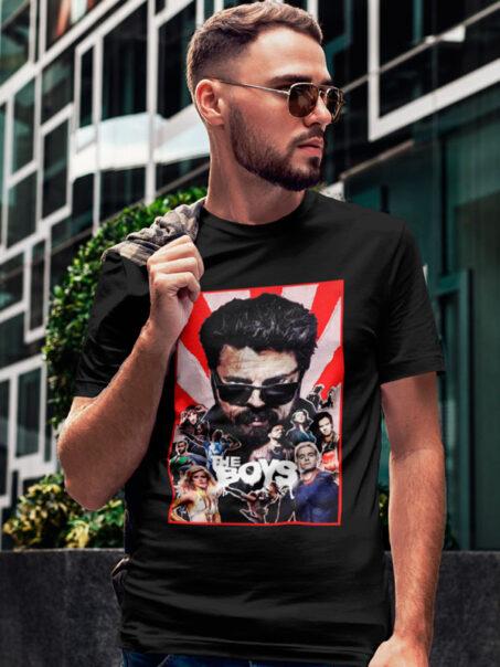 Camiseta The Boys S2 Negra