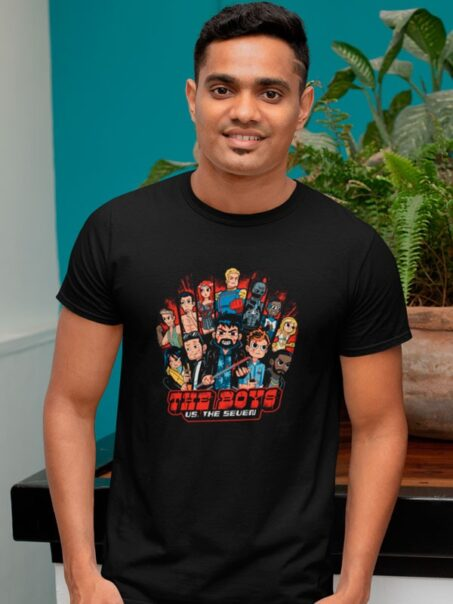 Camiseta The Boys Us The Seven