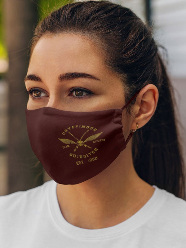 mascarilla harry potter quidditch