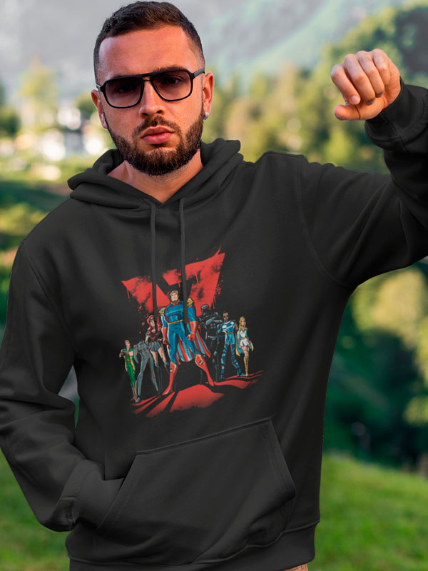 Sudadera The Boys Los 7