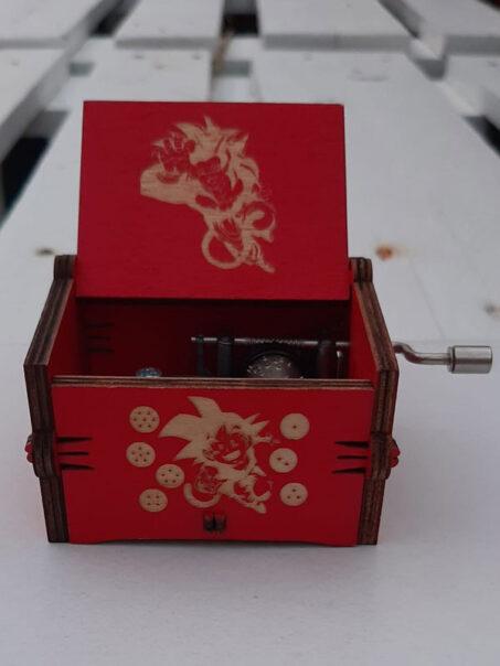 caja musical de dragon ball gt