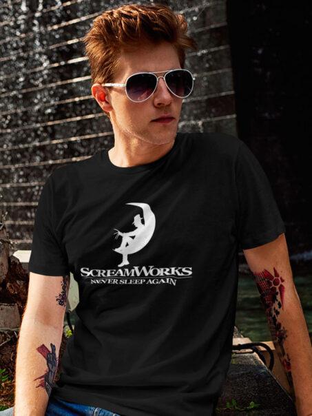 camiseta scream works