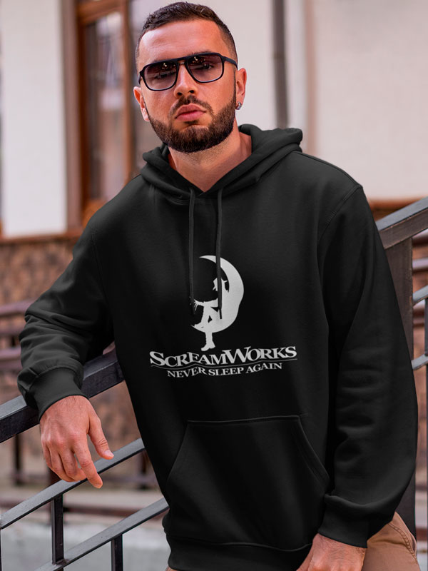sudadera capucha scream works