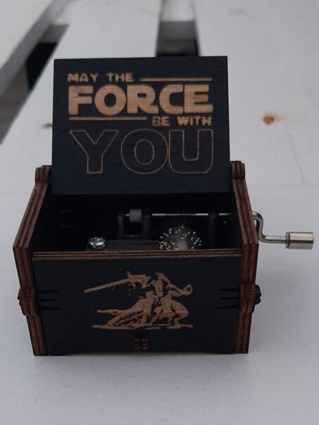 caja musical de star wars