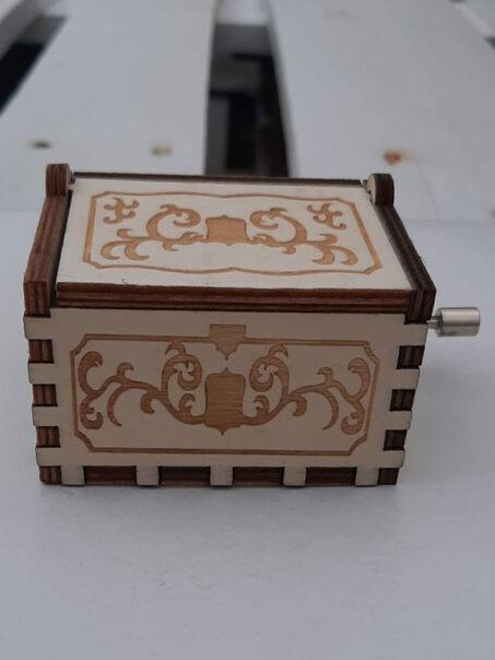caja musical dragon ball de tapion