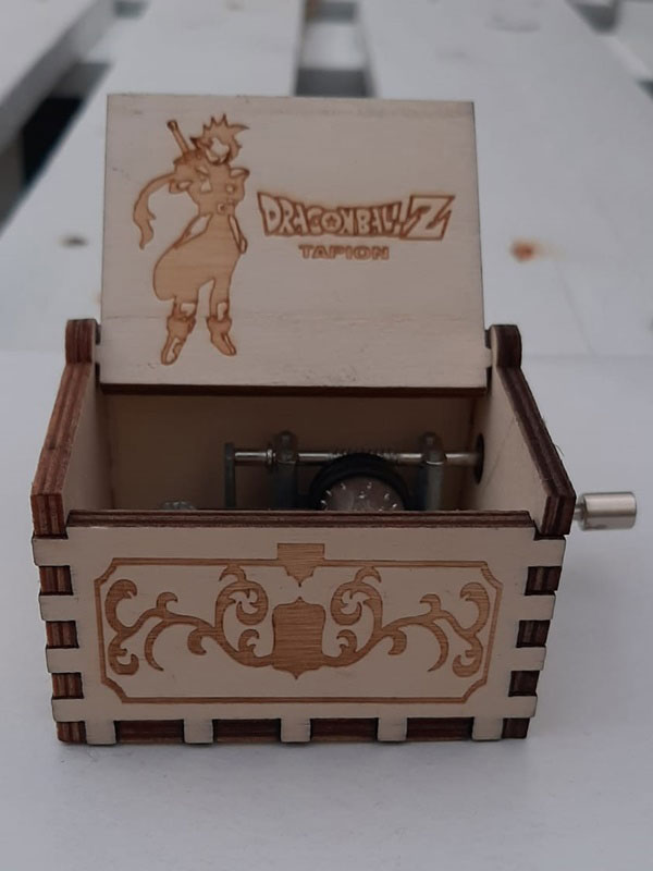 caja musical dragon ball tapion