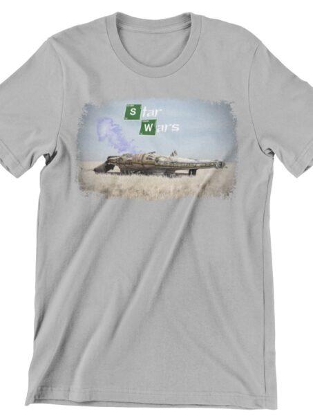 camiseta de breaking bad star wars