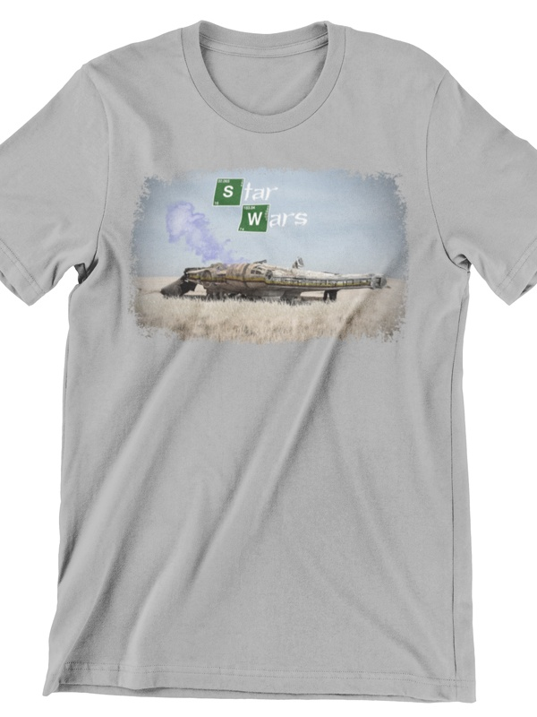 camiseta de breaking bad star wars