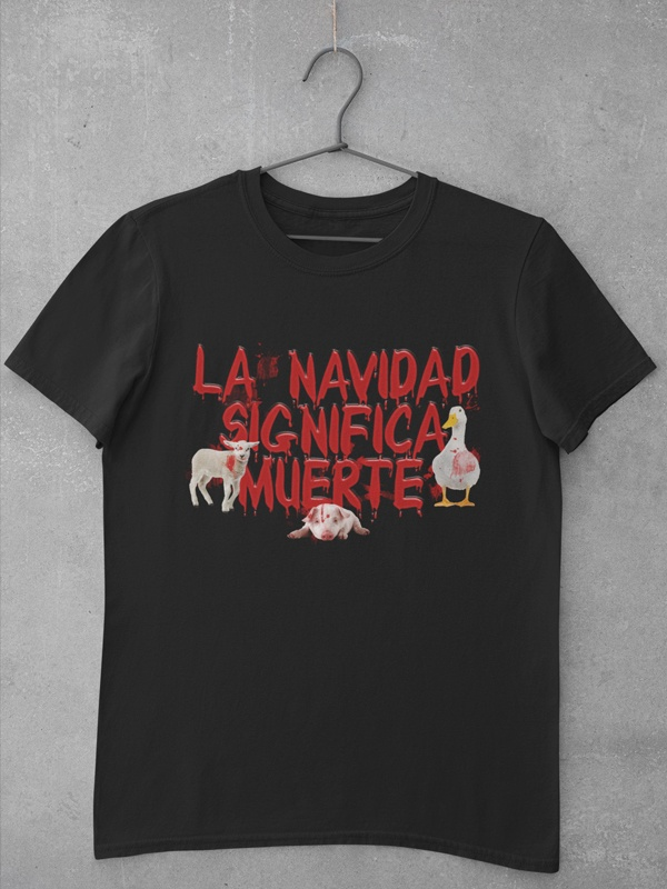 camiseta la navidad significa muerte