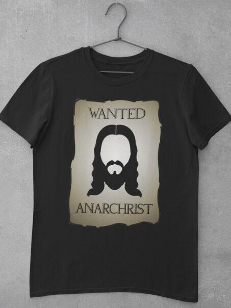 camiseta wanted anarchist