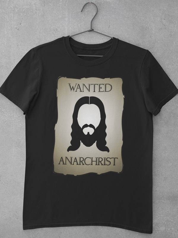 camiseta wanted anarchist