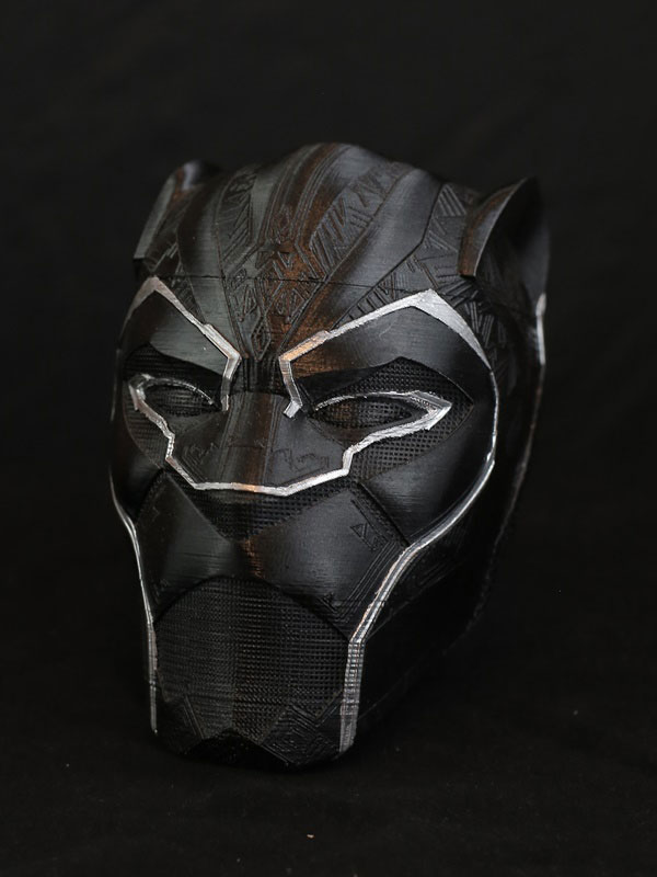Casco Black Panther vengadores
