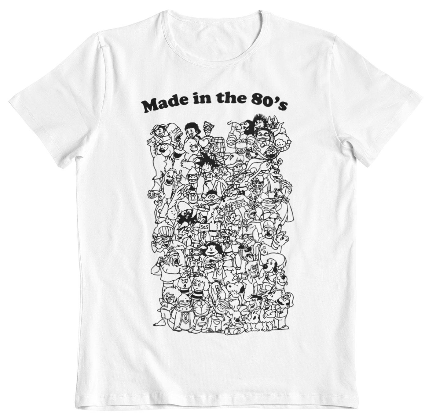 camiseta anime made in 80 s