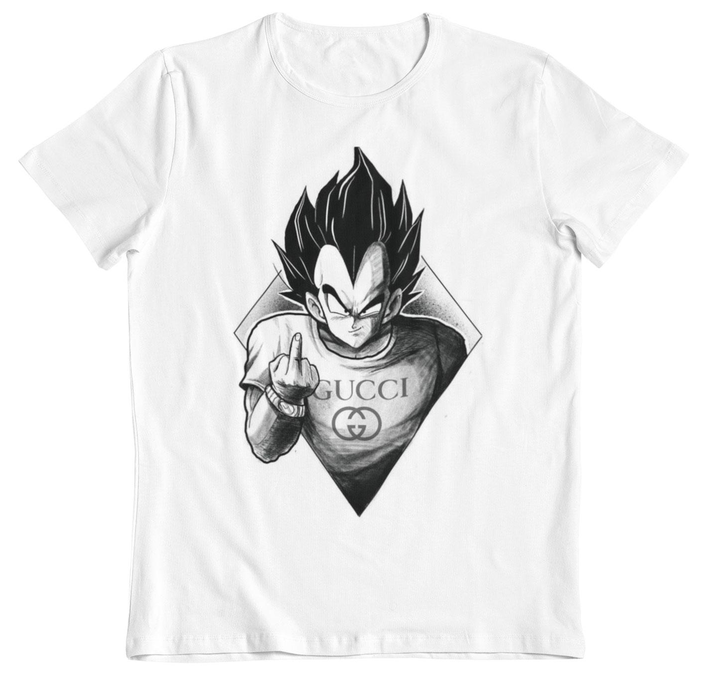 Camiseta Dragon Ball Vegeta furius