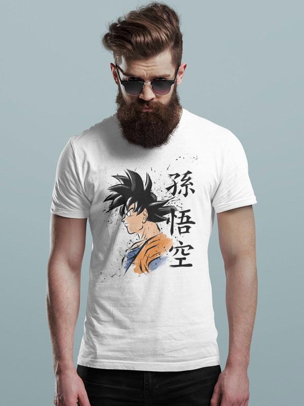 camiseta el guerrero son goku