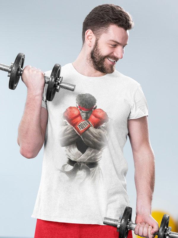 camiseta street fighter