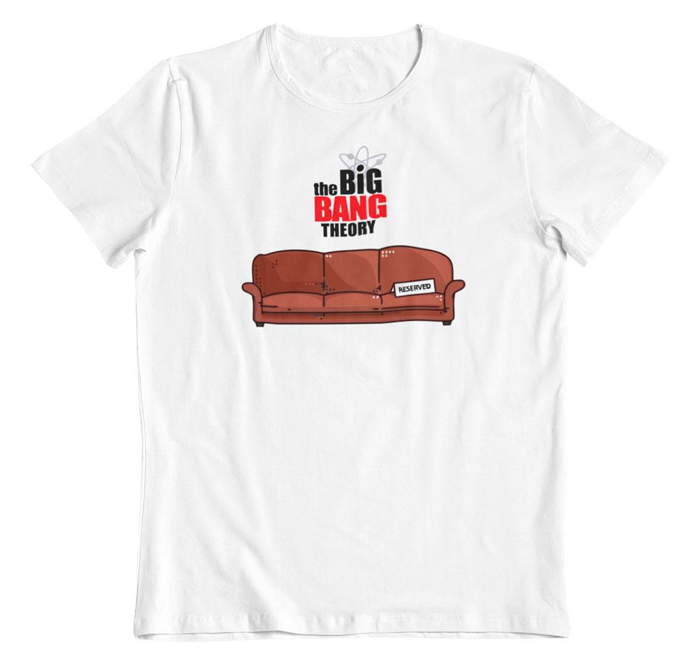 Camiseta The Big Bang Theory mi sitio