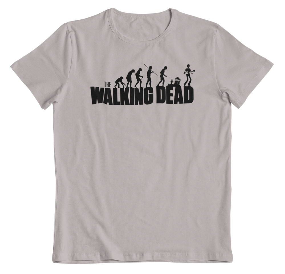 Camiseta The Walking dead gris