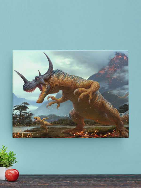 Lienzo Digimon real image