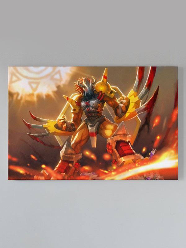 Lienzo Digimon WarGreymon