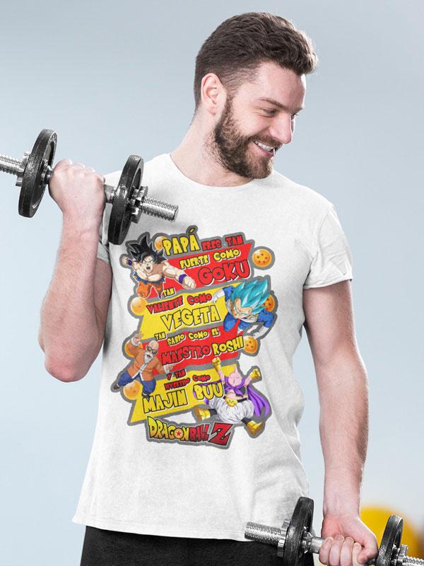 camiseta dia del padre guerreros z