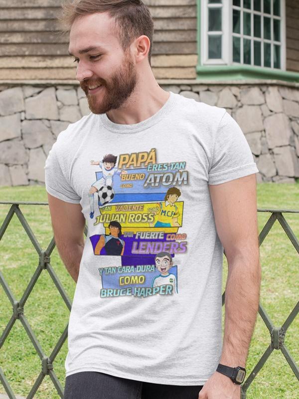 camiseta dia del padre oliver y benji