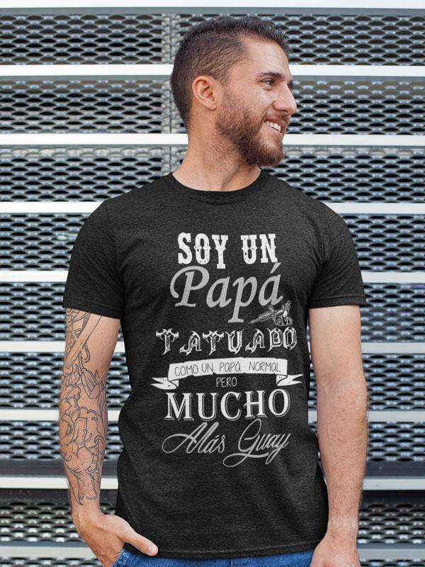 camiseta papa tatuado dia del padre